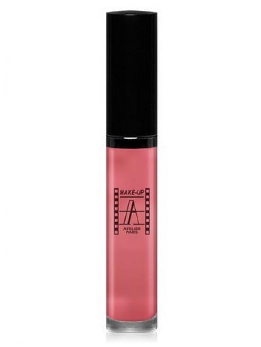 Блеск для губ увлажняющий розовый HLR
