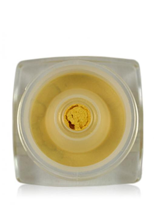 Тени рассыпчатые перламутровые желто-золотые PP17