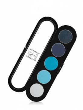 Палитра теней для век №7 сине-голубые тона T07