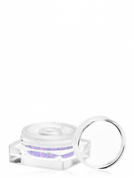 Пудра рассыпчатая мерцающая из слюды бело-фиолетовая SL06